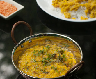 Goan Dal Curry – Masoor Dal – Red Lentil Recipe