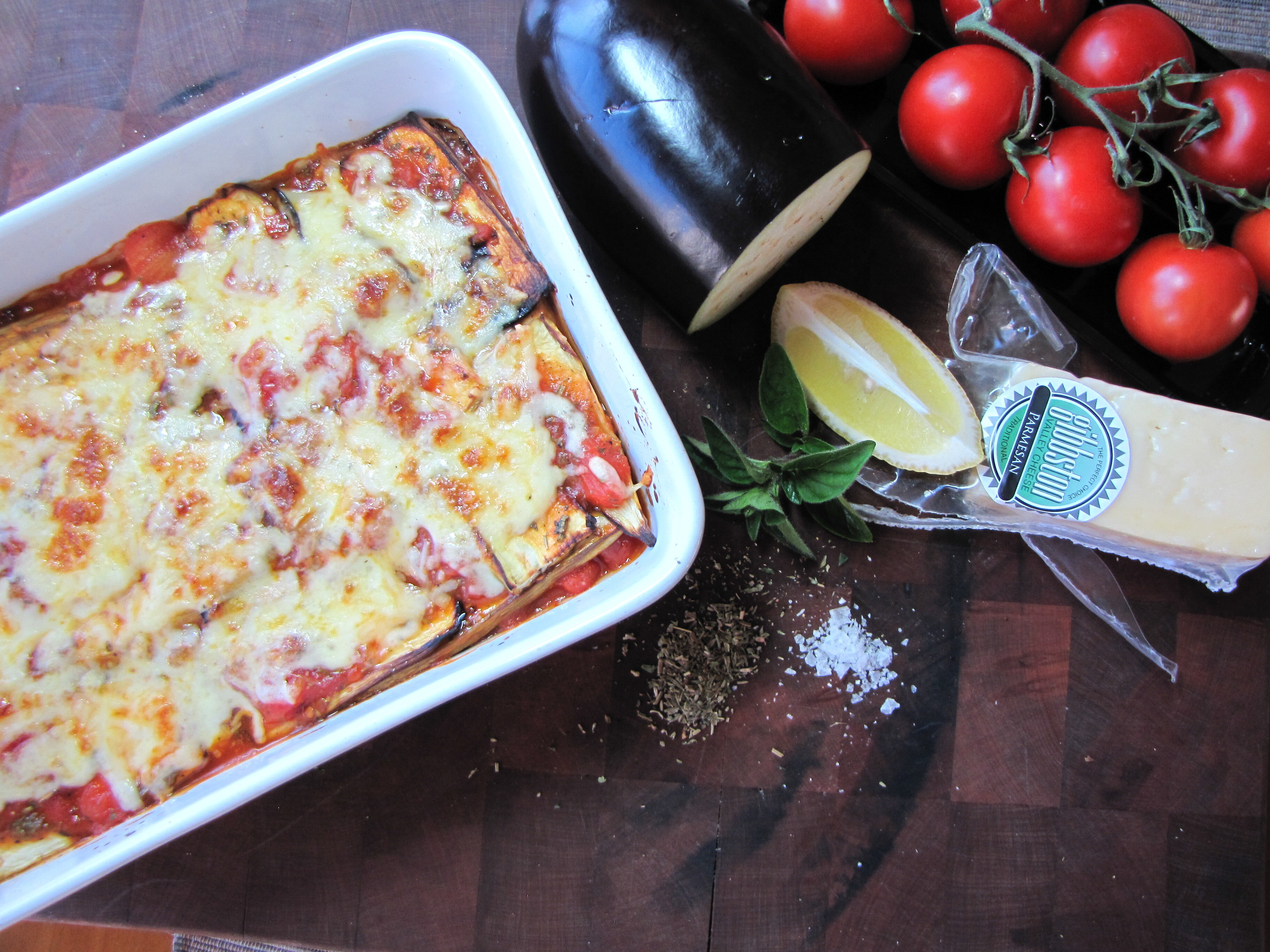 Eggplant Lasagne – a low calorie meal that hits the spot