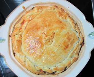 Steak and Guinness Pie – a winning winter warmer