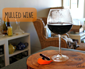 Autumn Drink Series: Mulled Wine