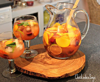 Summer Drink Series: Colorado Summer Sangria