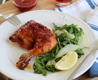 Portuguese Chicken with Piri-piri Sauce