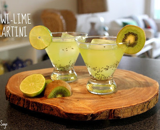 Summer Drink Series: Kiwi-Lime Martini