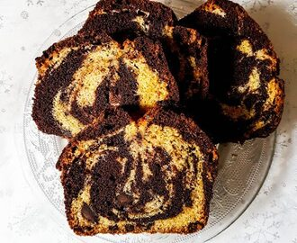 Clementine & Chocolate Marble Cake