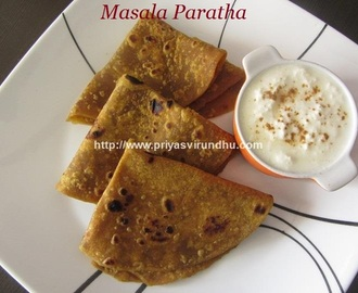 Masala Paratha/How to Make Masala Paratha/Masala Paratha Recipe