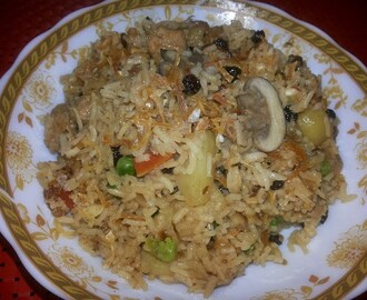 Parsi Berry Pulao
