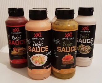 REVIEW: XXL Nutrition Light Saus