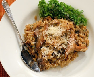 Creamy Three Mushroom Risotto (Risotto Made Easy!)