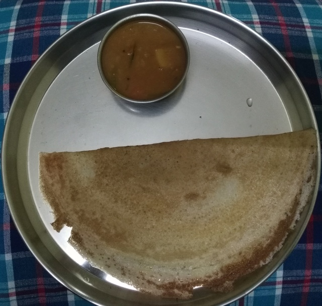 Varagu rice dosa, how to make varagu rice dosa recipe, Millet recipes