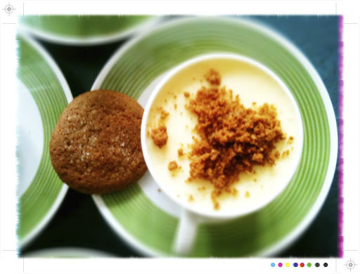 Happy Travels, Lemon Mousse and Ginger Snaps