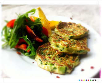 Bookshelf: Black Dog Cottage Cookbook - Zucchini, Mint and Feta Fritters