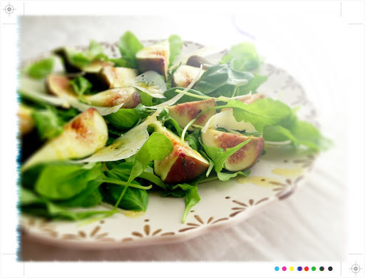 Fresh Figs with Manchego & Honey, from Ottolenghi The Cookbook IHCC