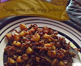 Spicy beef mince with crispy potato cubes kukskitchen style :D with some Potato wisdom from Heston Blumenthal