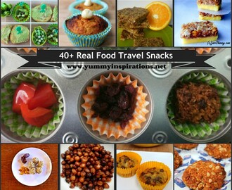 40+ Real Food Travel Snacks For 24+ Hours Of Travel