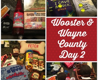 Road Trip: Wayne County OH (Wooster-near) Day 2