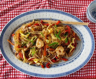 Low calorie Singapore Noodles