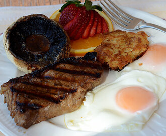 The Ultimate Steak and Eggs Breakfast
