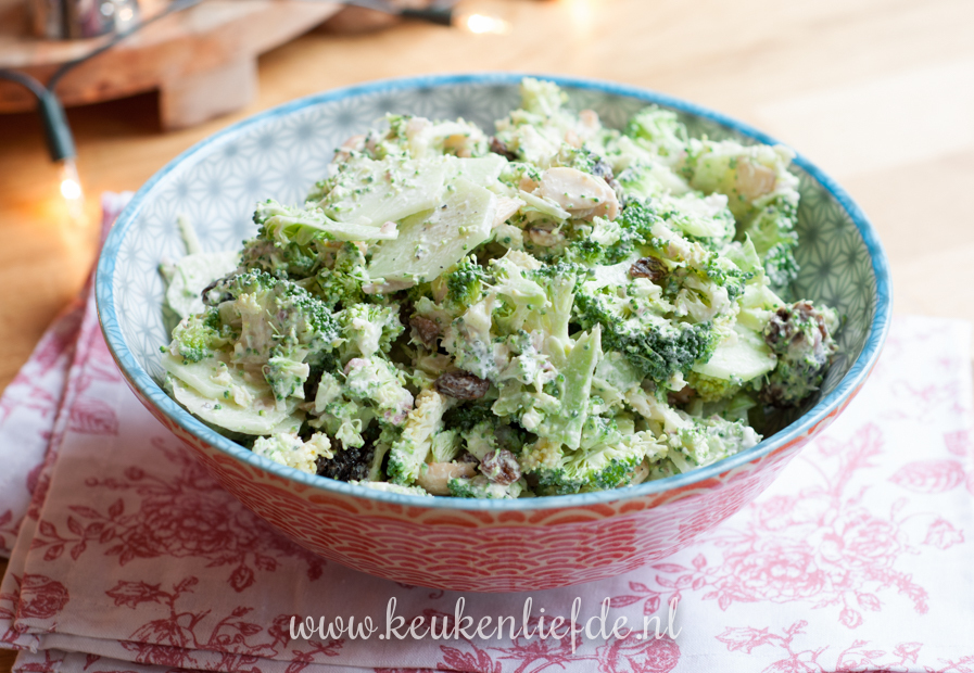 Video: broccolisalade met yoghurtdressing