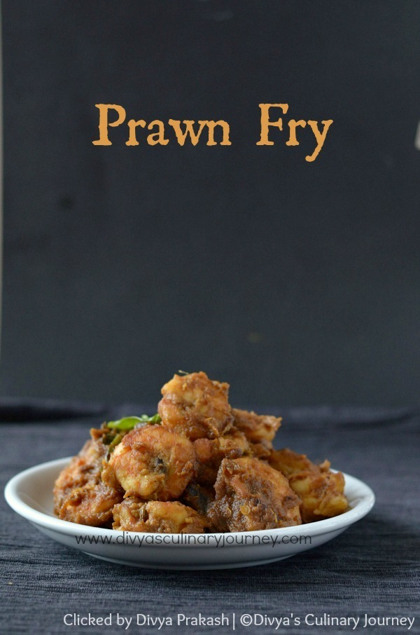 Prawn Fry Recipe | South Indian Style Prawns Fry | Eral Fry