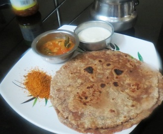 Mixed Flour Onion Parata