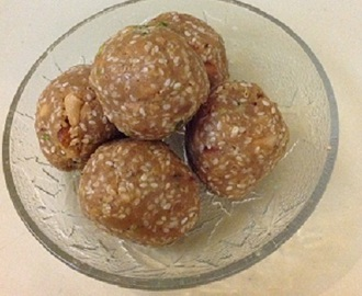 Til ke Ladoo Recipe- Makar Sankranti recipes