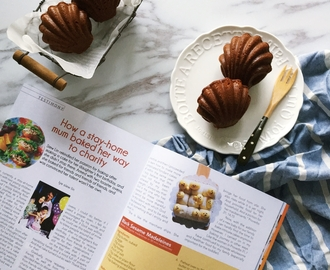 Honey Chocolate Madeleines