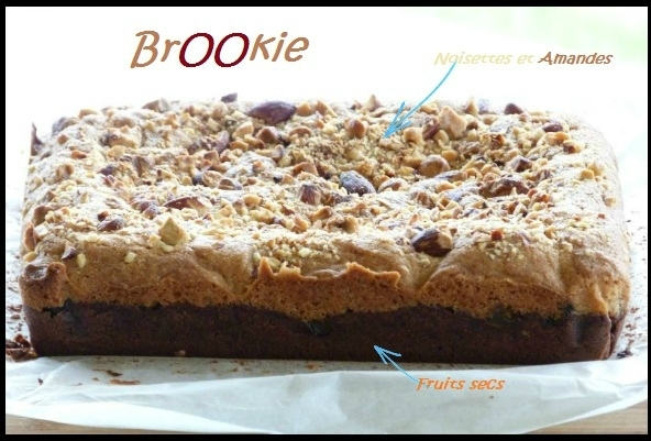 "ღ "" Miam "" BrOOkie fruits secs - Noisettes & Amandes"