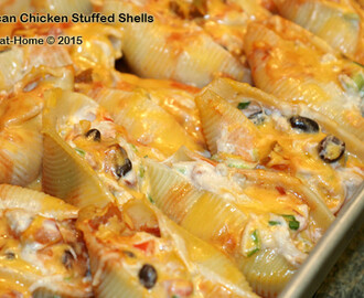 Mexican Chicken Stuffed Shells Recipe