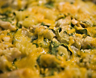 Cheese & Spinach Casserole Recipe