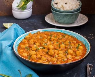 Shahi Chole Masala \ Chickpeas in a rich and creamy gravy