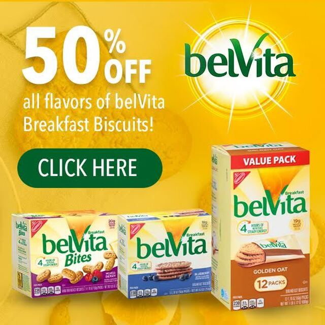 Target: 50% off belVita Breakfast Biscuits