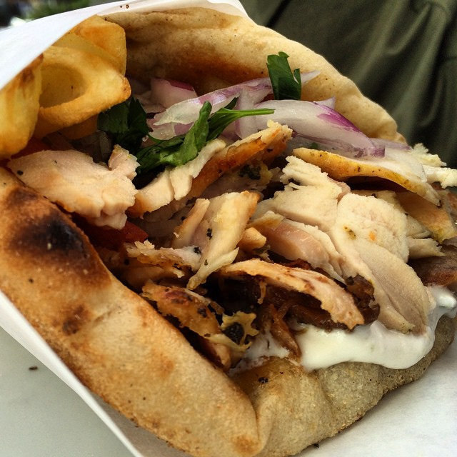 Souvlaki With Pita Bread Recipe