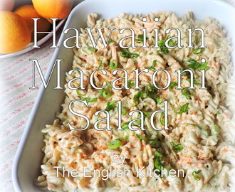Hawaiian Macaroni Salad and Degustabox