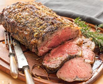 Garlic Herb Butter Prime Rib