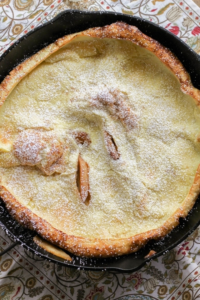 German Apple Pancake #SundaySupper