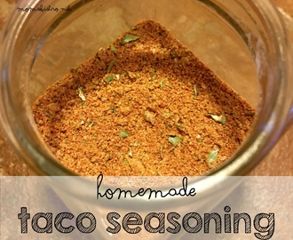 How To Save Money By Making Your Own Taco Seasoning