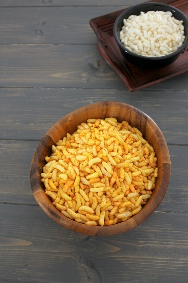 Vagharela mamra recipe | Spicy puffed rice recipe