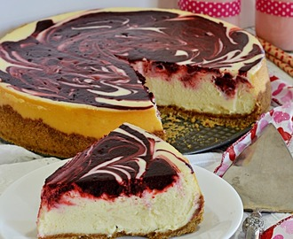 Red Velvet Swirl Cheesecake