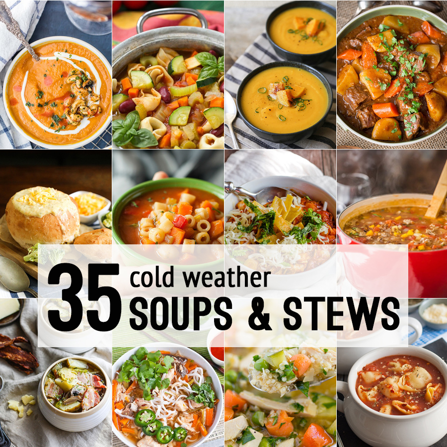 35 Soups and Stews