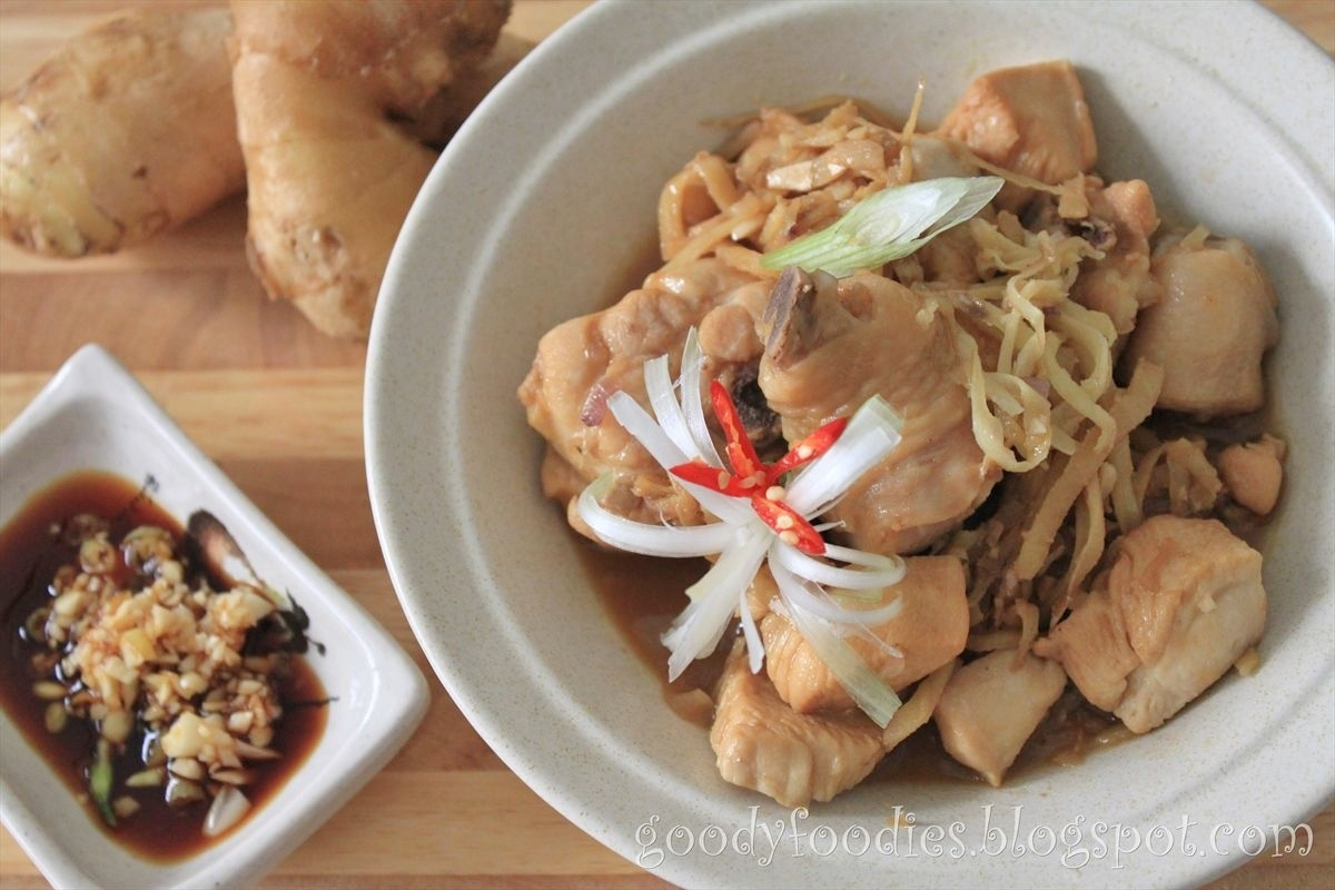 Recipe: Chicken with Chinese rice wine and old ginger