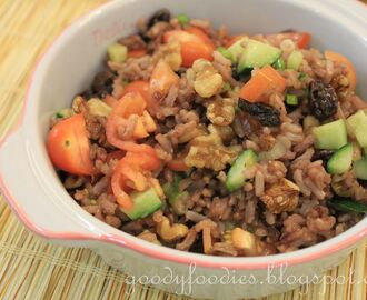 Meatless Monday Recipe: Brown Rice Salad - Vegetarian (Delia Smith)