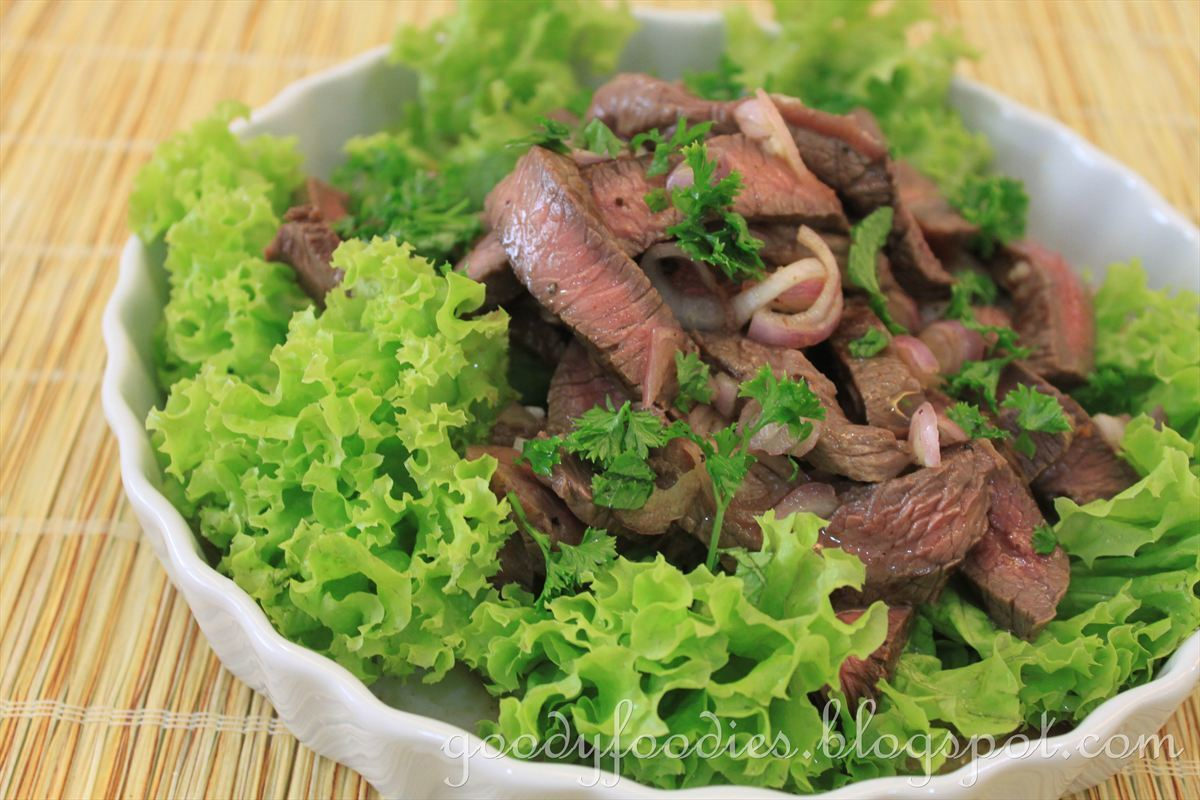 Recipe: Thai sliced steak salad with hot and sour sauce