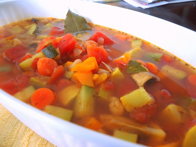 Slim Down Vegetable Soup