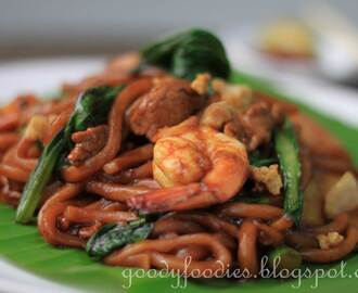 Recipe: KL Fried Hokkien Mee 福建面