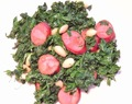 Kale with Chorizo and Almonds
