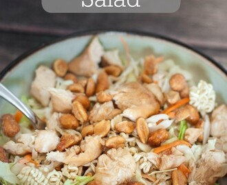 Asian Chicken Salad - Eat Healthy 2016