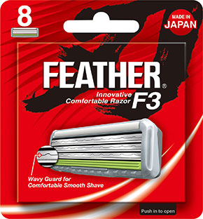 Feather F3 Razor Blades 8-pack