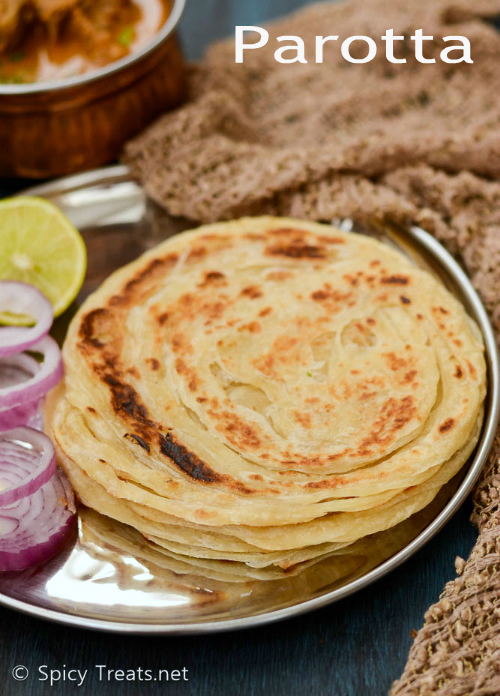 Parotta Recipe | Parotta - Step By Step Recipe | South Indian Layered Bread - Hotel Style Parotta Recipe