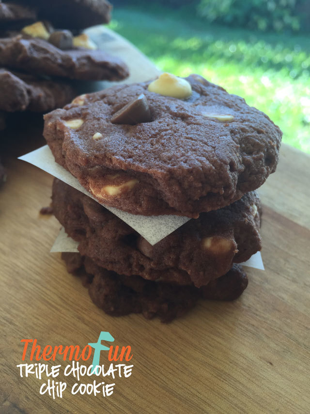 Triple Chocolate Chip Cookies – Kidtastic Friday