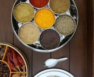 Indian spice box | Masala dabba | Spices to include in masala dabba